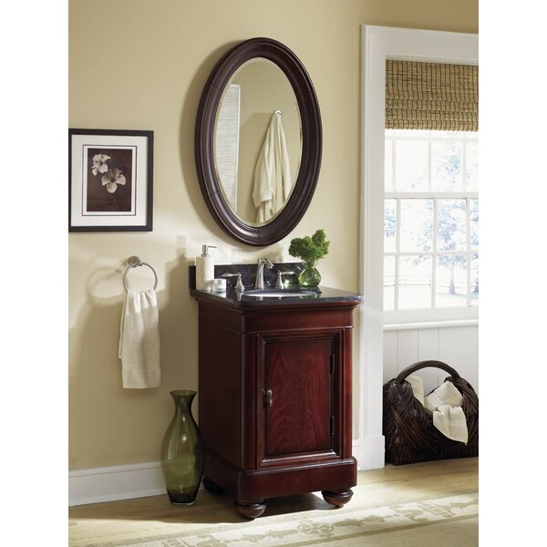 Sereno 24 Single Bathroom Vanity Set with Mirror by World MenagerieSereno 24 Single Bathroom Vanity Set with Mirror by World Menagerie