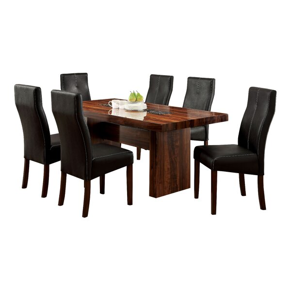 Carroll 7 Piece Dining Set by Hokku Designs