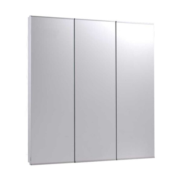 Zachery 30 x 30 Recessed Medicine Cabinet by Ebern Designs