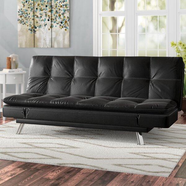 Charmant Twin Tufted Back Convertible Sofa By Hokku Designs