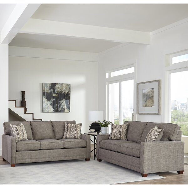 Nedra Modern Track 2 Piece Living Room Set by Brayden Studio