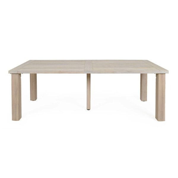 Oak Crest Teak Dining Table by Canora Grey