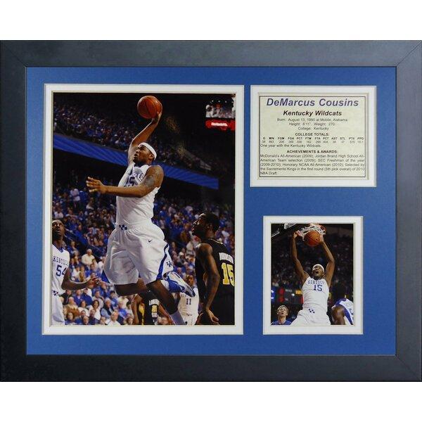 DeMarcus Cousins - Kentucky Wildcats Framed Memorabilia by Legends Never Die