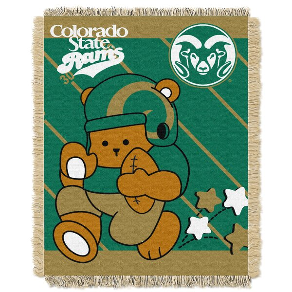 Collegiate Colorado State Baby Throw by Northwest Co.
