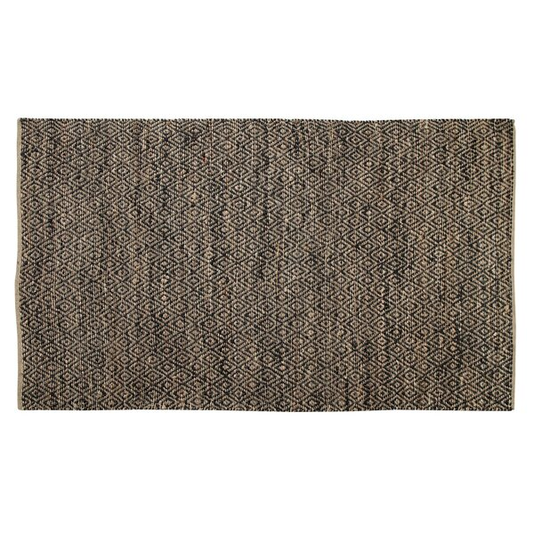 One-of-a-Kind Preusser Kona Hand Woven Golden/Black Area Rug by Union Rustic