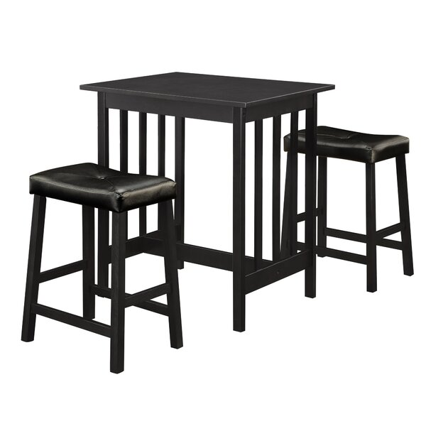 Iarund 3 Piece Counter Height Dining Set by Winston Porter Winston Porter