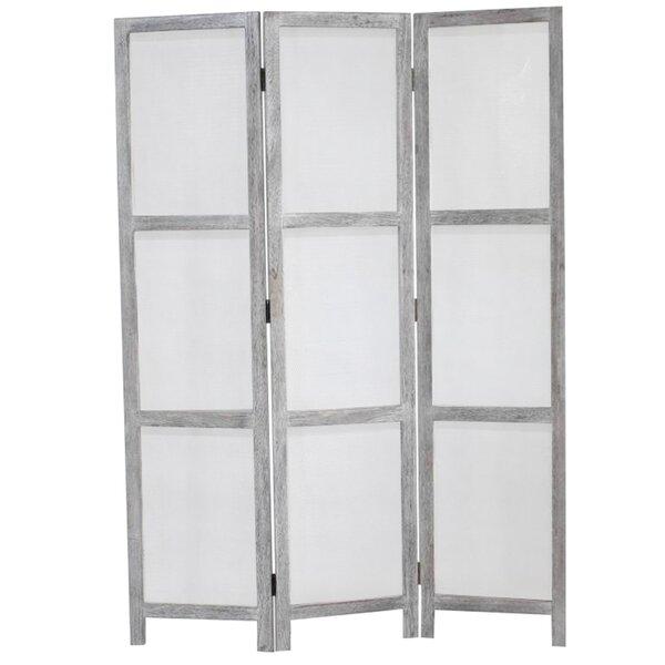 Breezer Mesh 3 Panel Room Divider by Screen Gems