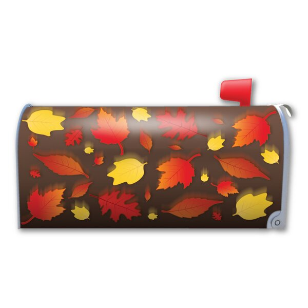Falling Leaves Magnetic Mailbox Cover by Magnet America
