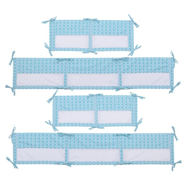 Ariel Sea Princess Secure Me Crib Bumper by Disney