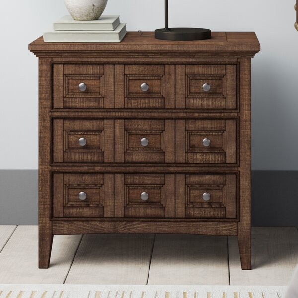 Firth 3 Drawer Nightstand by Greyleigh