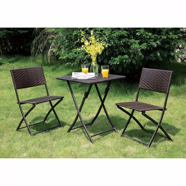 Gearhart Cottage 3 Piece Bistro Set by Red Barrel Studio