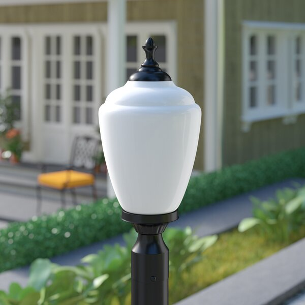 Quinton Outdoor 1-Light Lantern Head by Charlton Home
