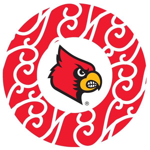 University of Louisville Swirls Collegiate Coaster (Set of 4) by Thirstystone
