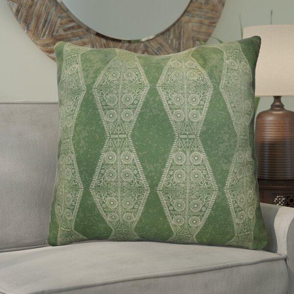 Soluri Pyramid Striped Geometric Euro Pillow by Bungalow Rose