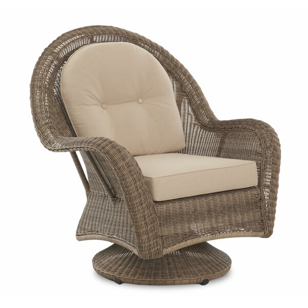 Brody Patio Swivel Chair with Cushion by August Grove