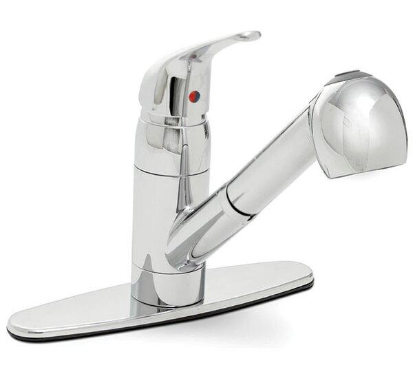 Caliber Single Handle Pull Out Kitchen Faucet by Premier Faucet