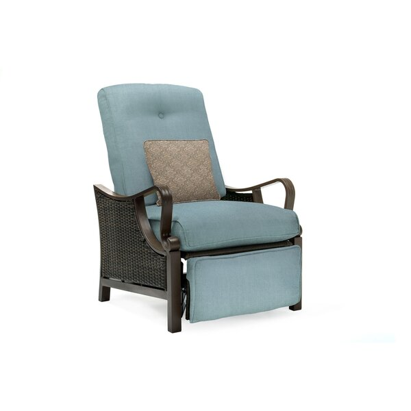 Sherwood Luxury Recliner Chair with Cushions by Three Posts