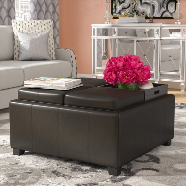 Ashton Storage Ottoman By Willa Arlo Interiors