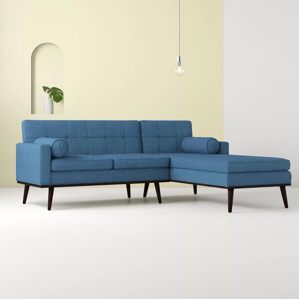 Venus Mid Century Modern Modular Sectional Sofa by Hashtag Home