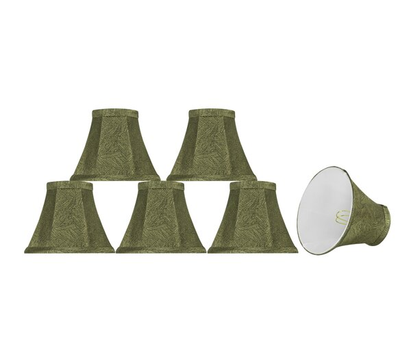 6'' Fabric Bell Lamp Shade (Set of 6) by Bay Isle Home