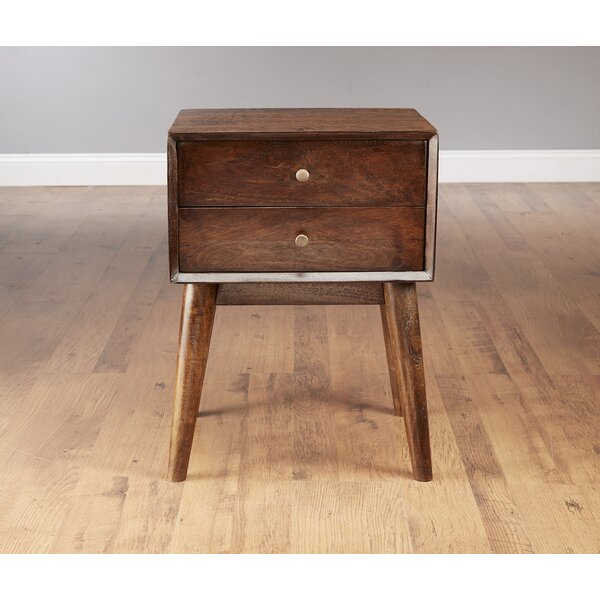 Mid Century Style End Table by AA Importing AA Importing