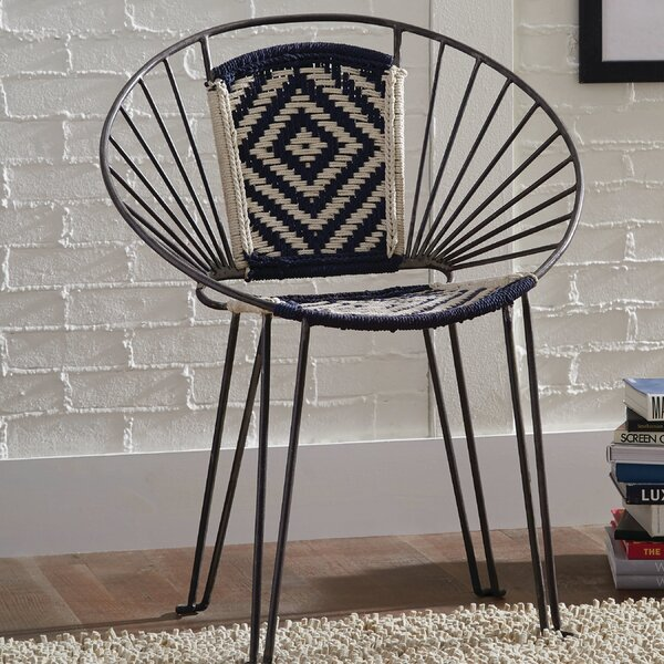 Mesa Papasan Chair (Set of 2) by Bungalow Rose Bungalow Rose