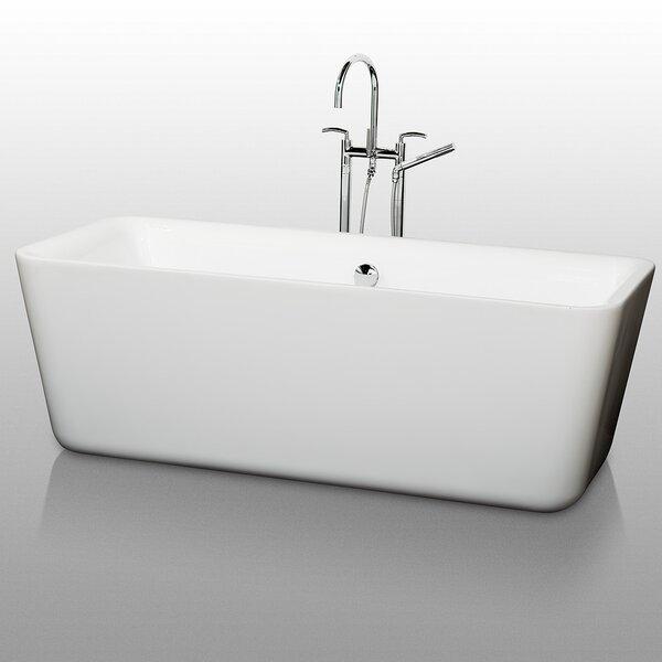 Emily 69 x 30 Soaking Bathtub by Wyndham Collection