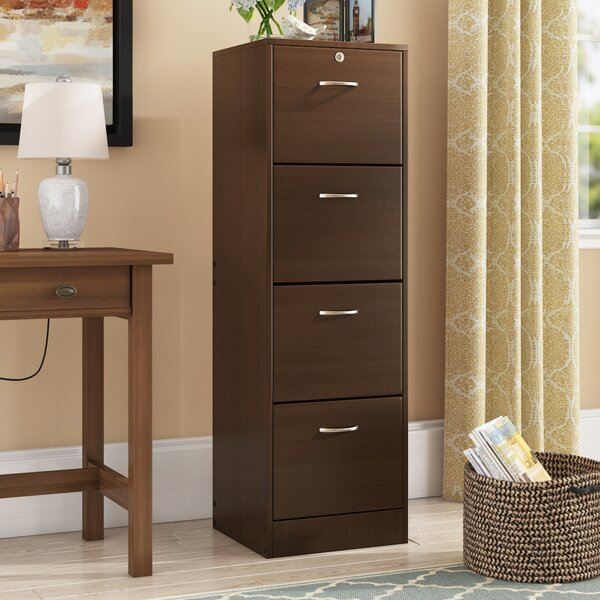 Hetzel 4 Drawer Filing Cabinet By Symple Stuff.