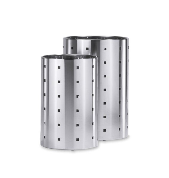 Home Decor Stainless Steel Trash Can by ZACK