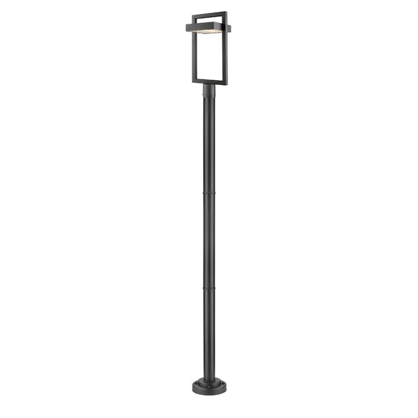 Fortune Outdoor 1-Light LED 97.23 Post Light by Orren Ellis