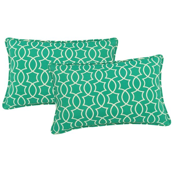 Maryville Indoor/Outdoor Lumbar Pillow (Set of 2) by Andover Mills