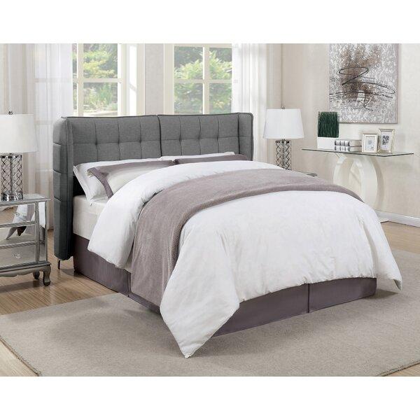 Gillis Upholstered Standard Bed by Ivy Bronx