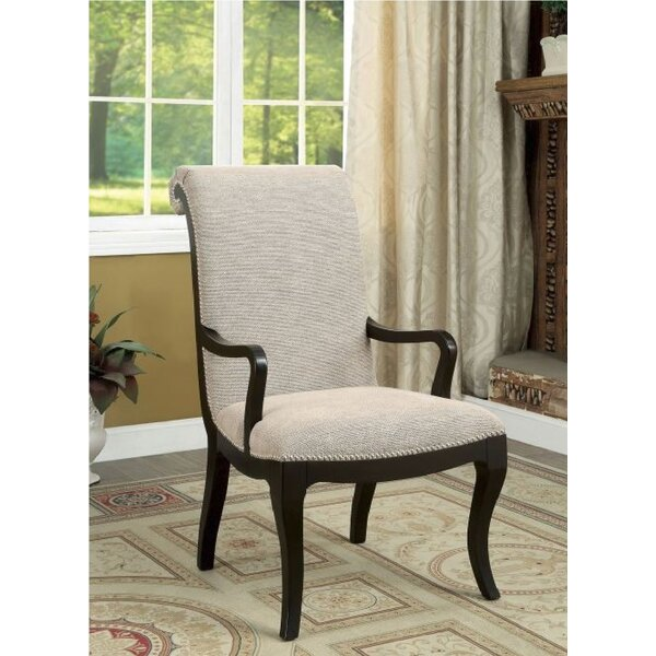 Francisco Upholstered Dining Chair (Set of 2) by Rosdorf Park