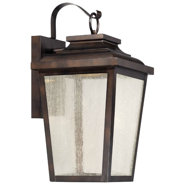 Mayhugh 1-Light LED Outdoor Wall Lantern by Three Posts