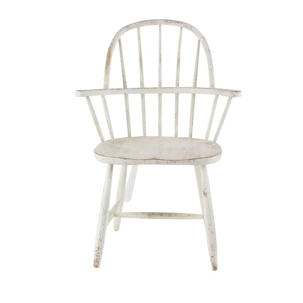 Osterley Distressed Solid Wood Dining Chair by Gracie Oaks
