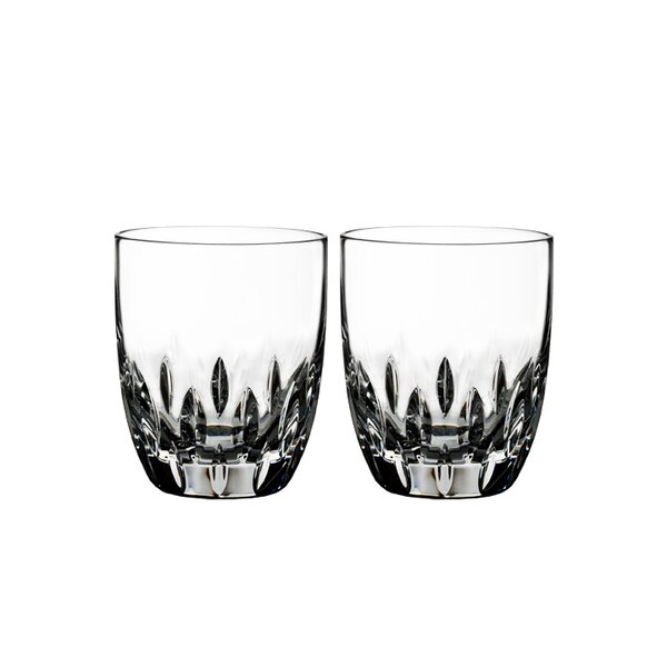 Enis Tumbler 11 oz. Crystal Cocktail Glasses (Set of 2) by Waterford