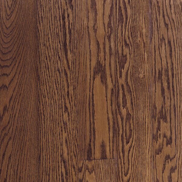 Fulton 3-1/4 Solid Red / White Oak Hardwood Flooring in Saddle by Bruce Flooring