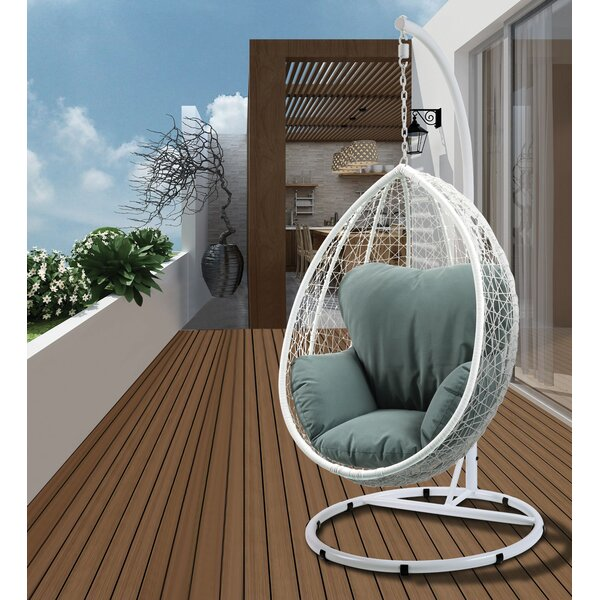 Randwick Porch Swing with Stand by Bungalow Rose