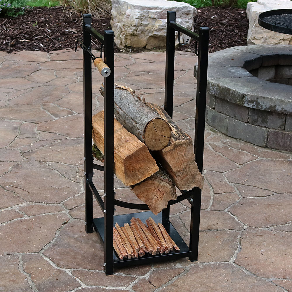 Wildon Home ® Fireside Log Rack With Tool Holder U0026 Reviews | Wayfair
