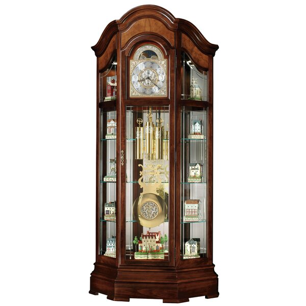 Majestic II Curio Grandfather Clock by Howard Miller®