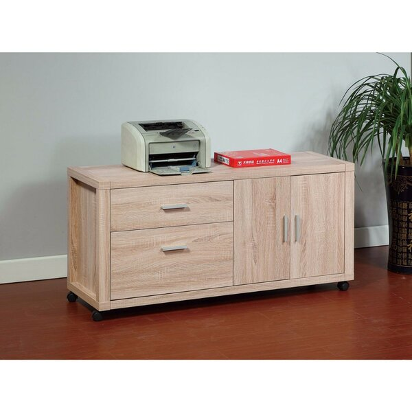 Domenech Coherence Utility 2-Drawer Lateral Filing Cabinet by Latitude Run