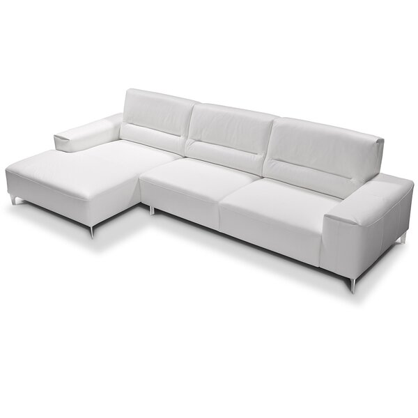Castiglia Leather Sectional by Castello