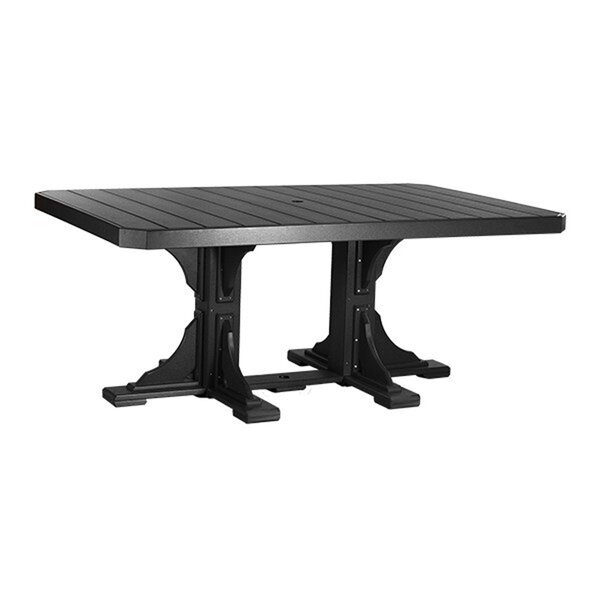 Rectangular Height Plastic Dining Table by Ebern Designs