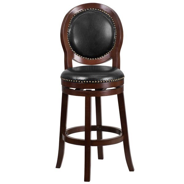 Leto 30 Swivel Bar Stool by Darby Home Co