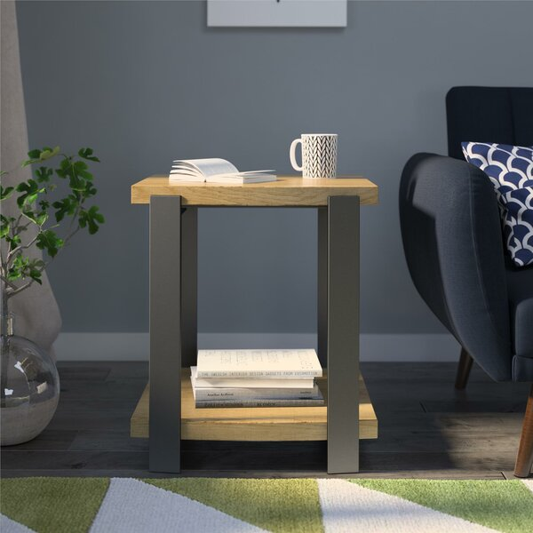 Fuentes End Table By Union Rustic