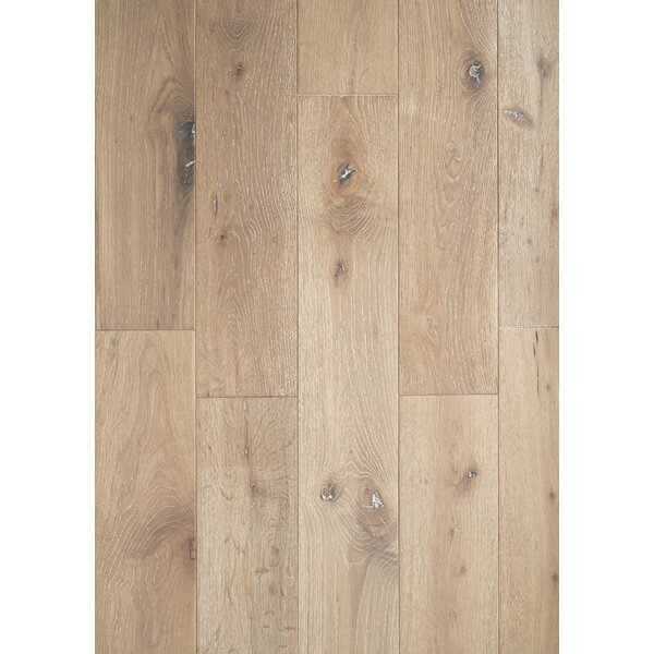 Brady French 6 Solid Oak Hardwood Flooring in Lighthouse White by Welles Hardwood