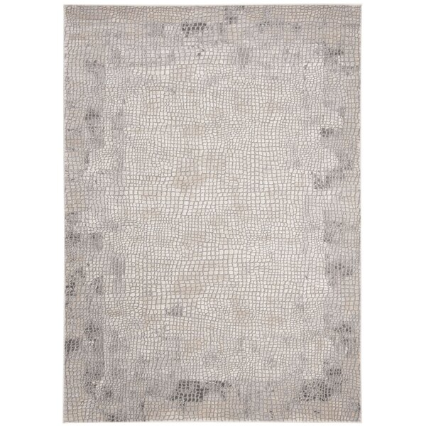 Edvin Taupe/Gray Area Rug by Williston Forge