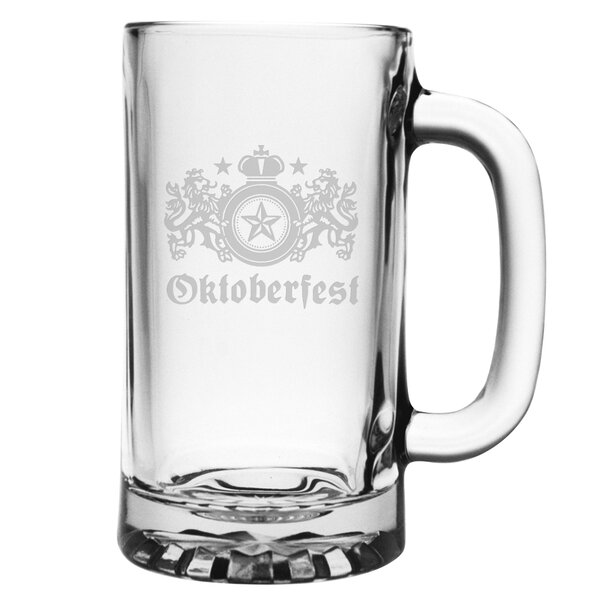 Oktoberfest Pub 16 Oz. Beer Mug by Susquehanna Glass