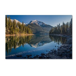 Jasper Morning by Pierre Leclerc Photographic Print on Wrapped Canvas by Trademark Fine Art