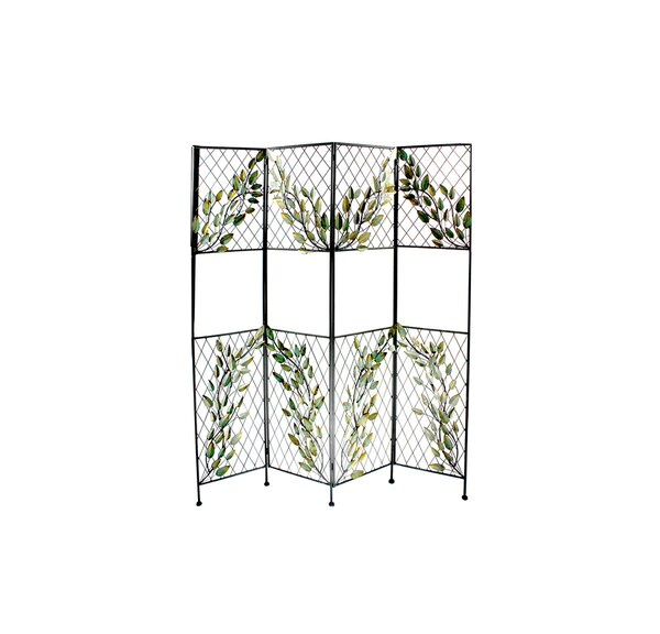 Haverty Screen 4 Panel Room Divider by Red Barrel Studio